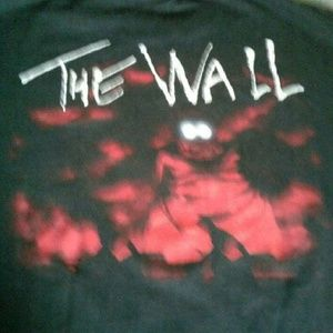 VTG PINK FLOYD THE WALL 1987 CONCERT T-SHIRT XL